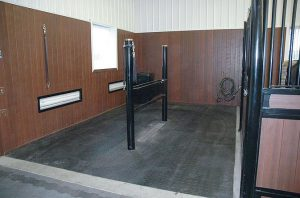 Grooming Station Stall Horse Barn Features