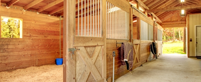 horse barn features